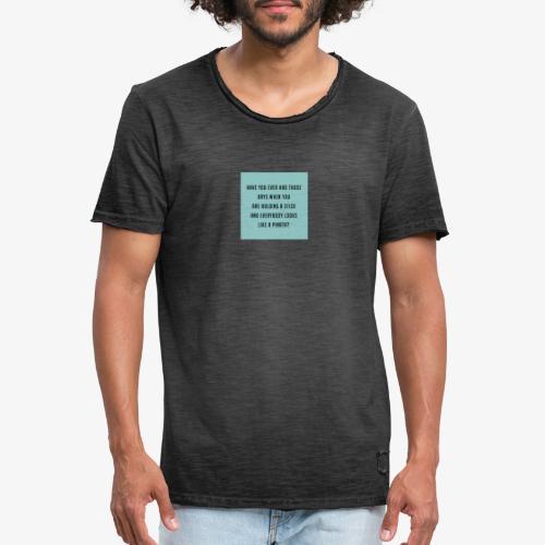 Piñata Slogan T-Shirt - Men's Vintage T-Shirt