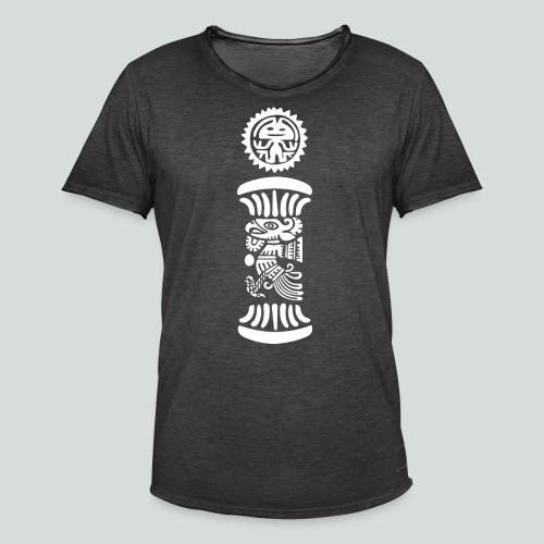 Mayan Sun - Maglietta vintage da uomo