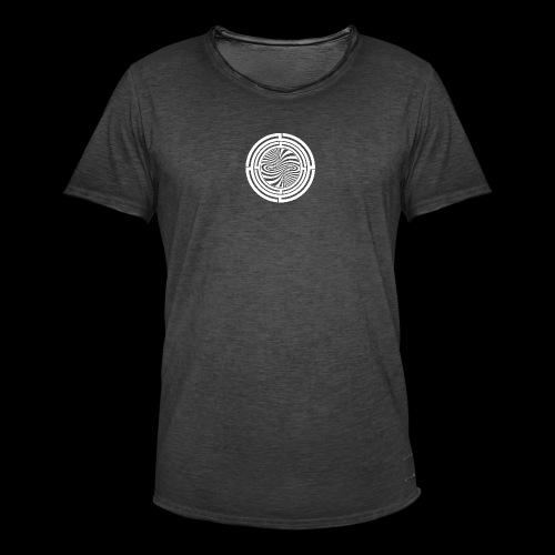 TRG Spiral Circle - T-shirt vintage Homme