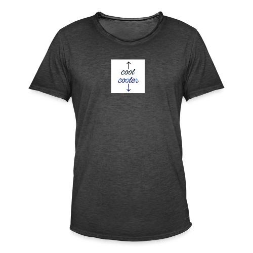 CoolCooler - Maglietta vintage da uomo