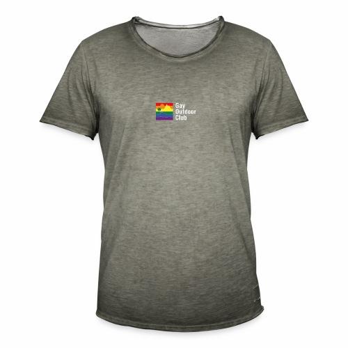 GOC Logo White Text - Men's Vintage T-Shirt