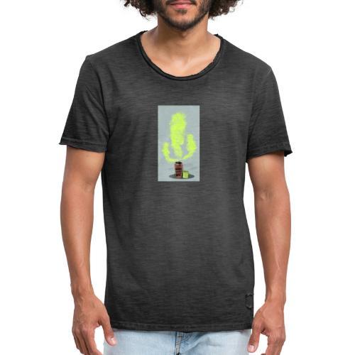 Can-Ktus - Camiseta vintage hombre