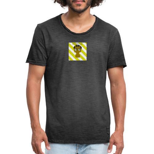 Gasmasken Logo 1 - Männer Vintage T-Shirt