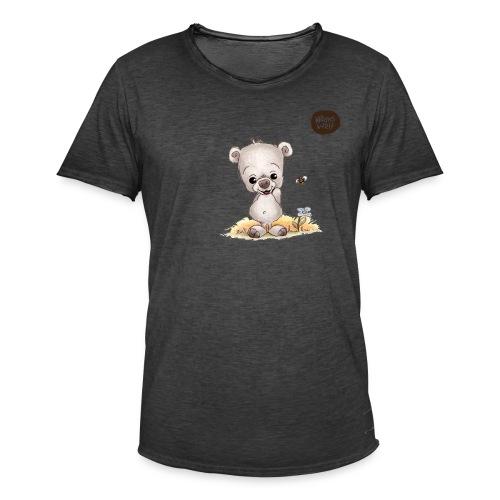 Noah der kleine Bär - Männer Vintage T-Shirt