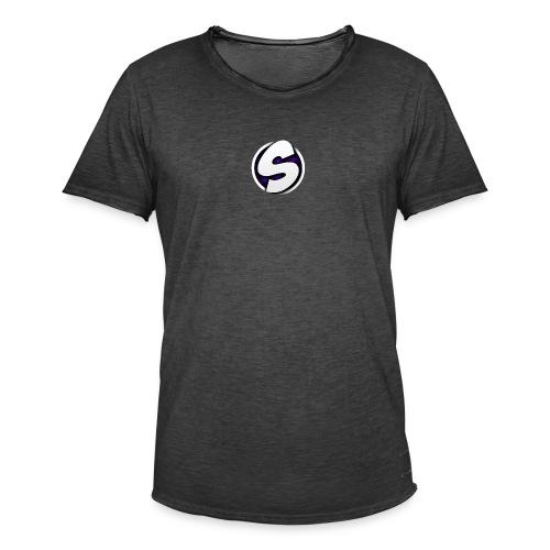 SilkyFX logo - Mannen Vintage T-shirt