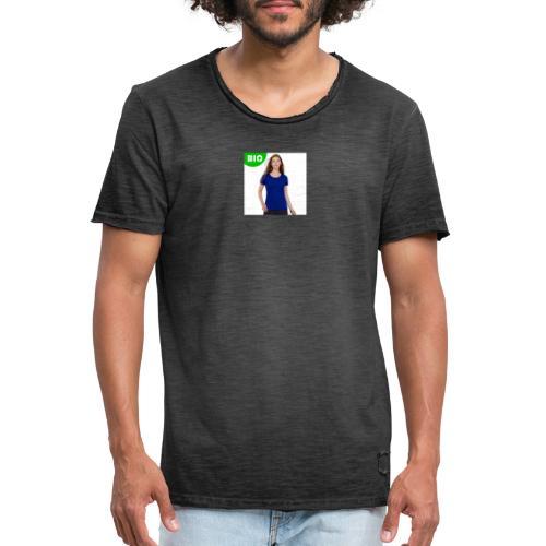 t shirt femme bio regen - T-shirt vintage Homme