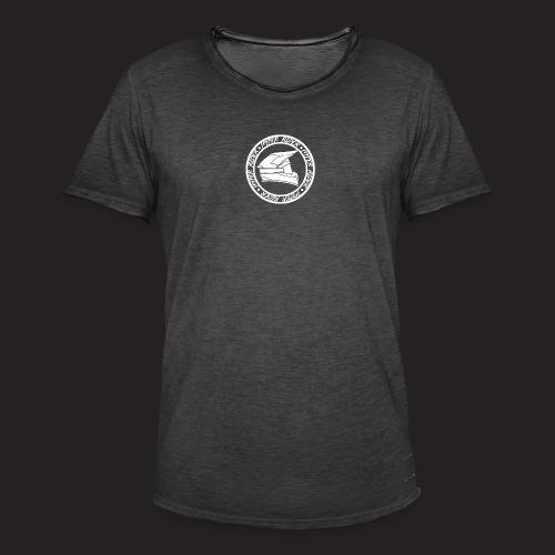 500hr white - Männer Vintage T-Shirt