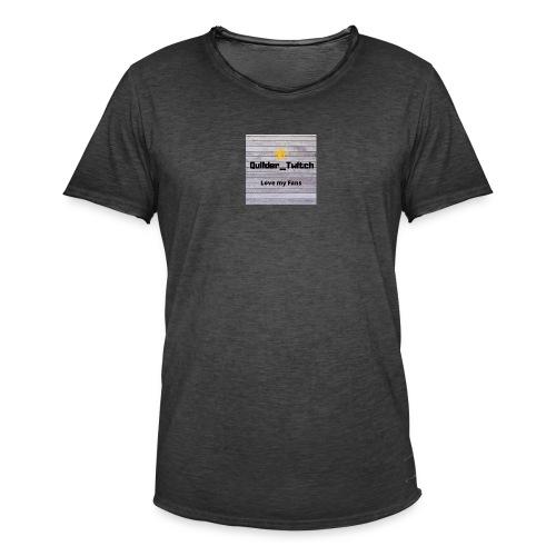 QuilderMerch - Vintage-T-shirt herr