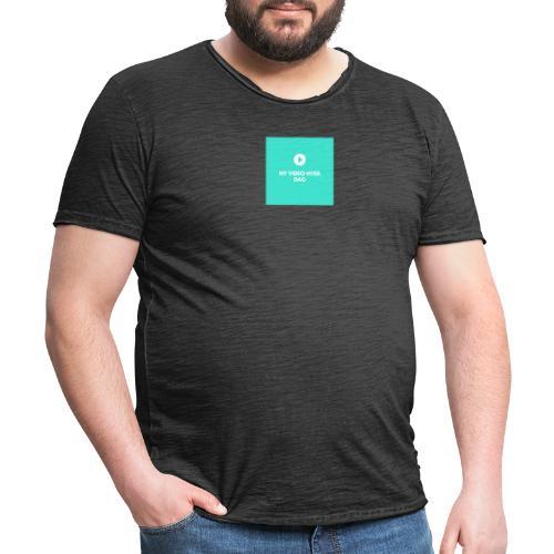ny video hver dag - Herre vintage T-shirt