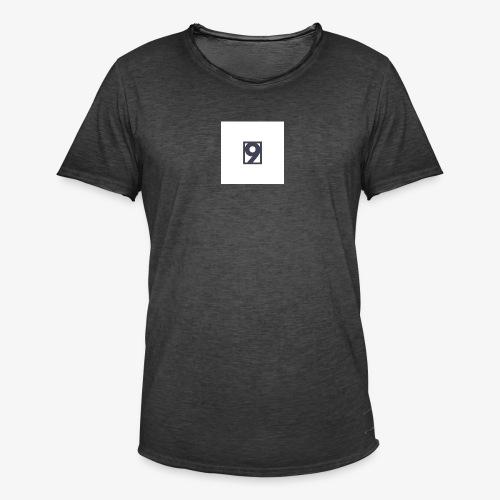 9 Clothing T SHIRT Logo - Men's Vintage T-Shirt