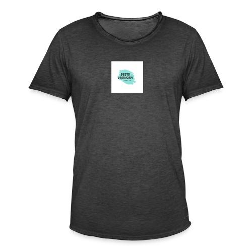 beste vriendeSpace - Mannen Vintage T-shirt
