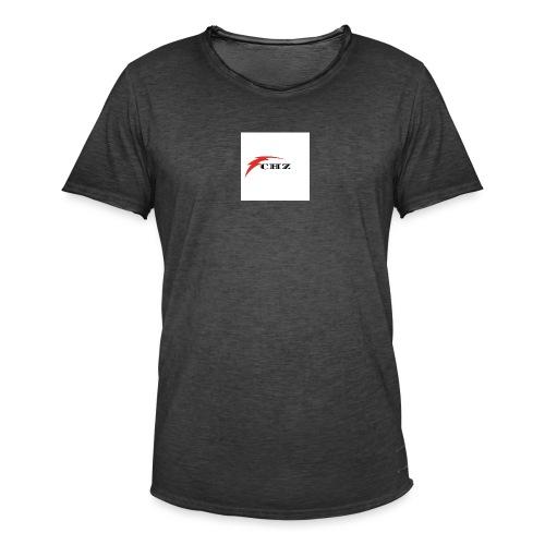 CHZ LAZER - Maglietta vintage da uomo