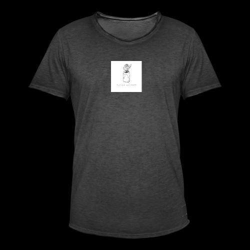 l'amour est mort - T-shirt vintage Homme