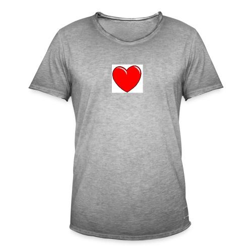 Love shirts - Mannen Vintage T-shirt