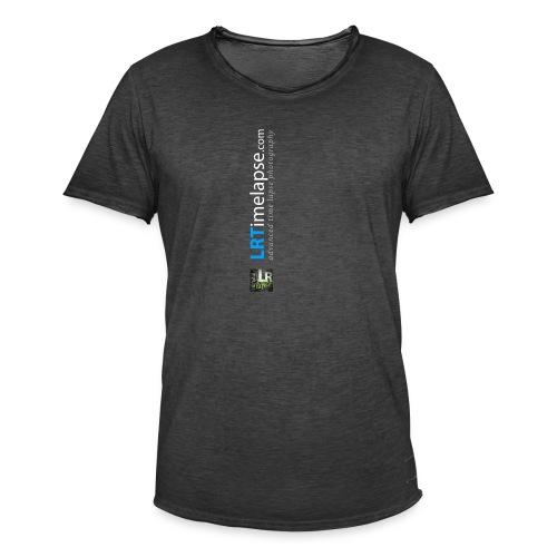LRTImelapse Shirt Logo Vorne Hoch breiter3 png - Männer Vintage T-Shirt