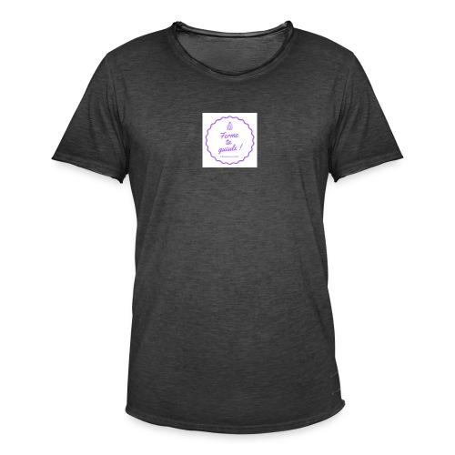 Ferme ta gueule ! - T-shirt vintage Homme
