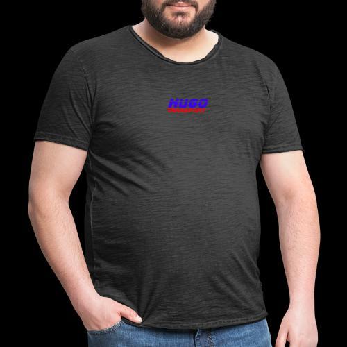 hugotransportfullrestransparent - Mannen Vintage T-shirt