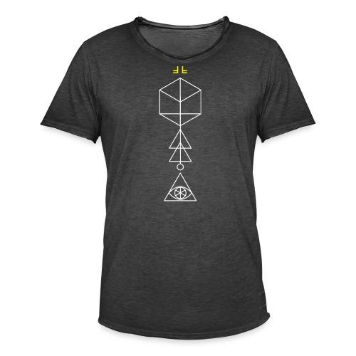 Cypher No.1 - White - Men's Vintage T-Shirt