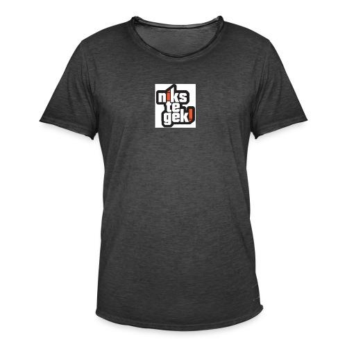 nikstegek shirt - Mannen Vintage T-shirt