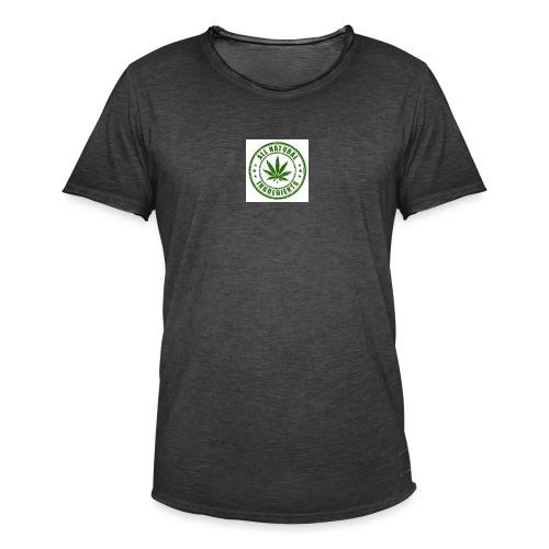 Weed - Mannen Vintage T-shirt