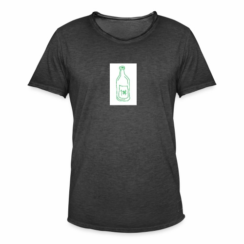 Alkoholi - Miesten vintage t-paita