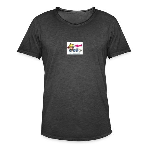 panki sticker neu - Männer Vintage T-Shirt