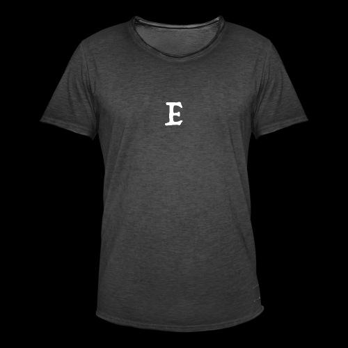 E - Men's Vintage T-Shirt