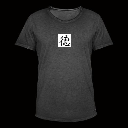 moral - Vintage-T-shirt herr