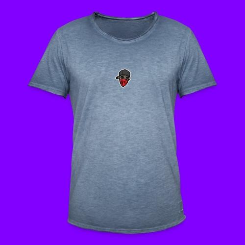 MKM TV's Logo - Men's Vintage T-Shirt