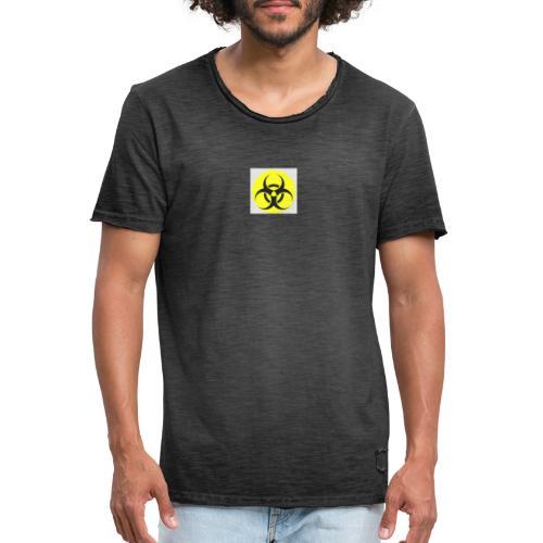 Gefahr - Männer Vintage T-Shirt