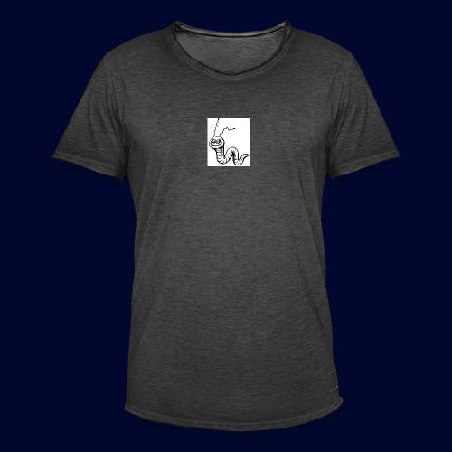 worm - Männer Vintage T-Shirt