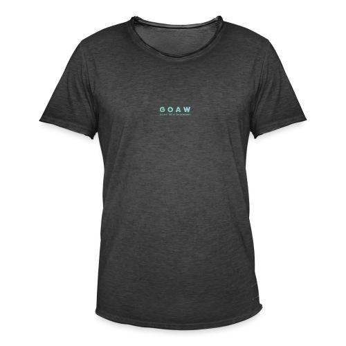 GOAW logo - Men's Vintage T-Shirt