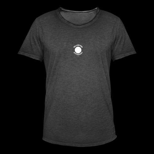 All white - Vintage-T-shirt herr