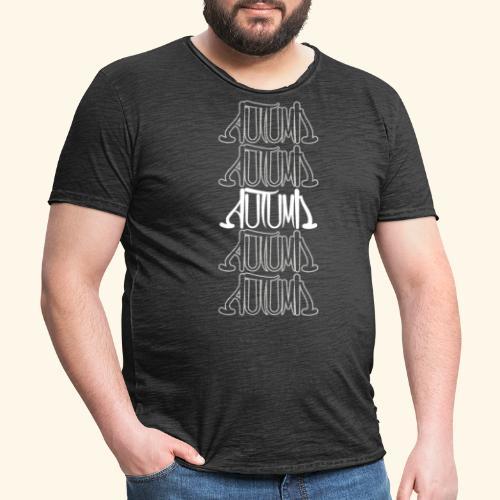 Autumn - Männer Vintage T-Shirt