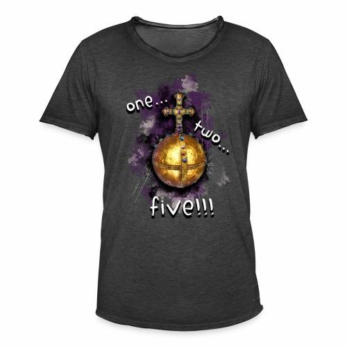 holy hand grenade of antioch - Camiseta vintage hombre