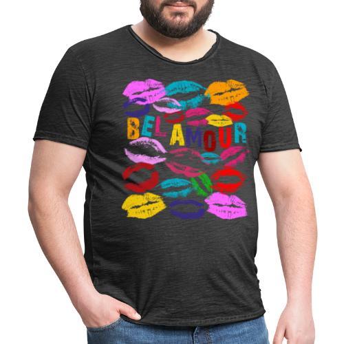 Bel Amour - Vintage-T-shirt herr