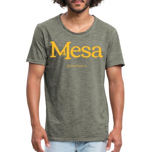 Nuestra Mesa - Camiseta vintage hombre