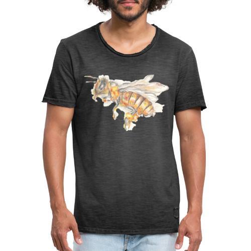MG002 Bee | Honey | Save the Bees | Books bee - Men's Vintage T-Shirt