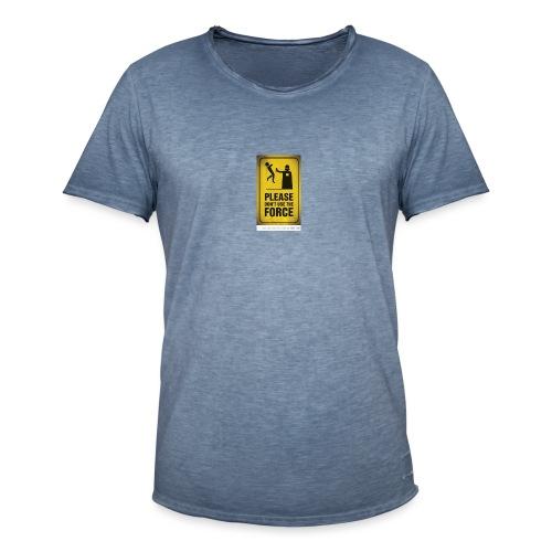 david acosta 3 - Camiseta vintage hombre