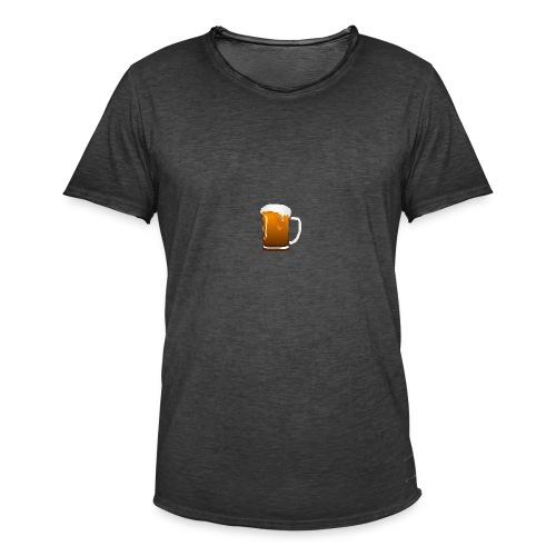 Bier - Männer Vintage T-Shirt