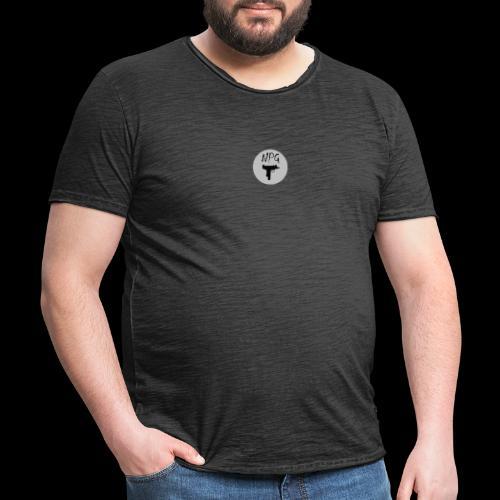 NPG - Männer Vintage T-Shirt