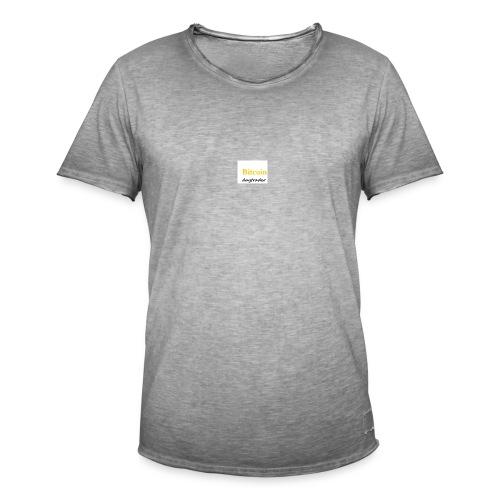 Naamloos - Mannen Vintage T-shirt