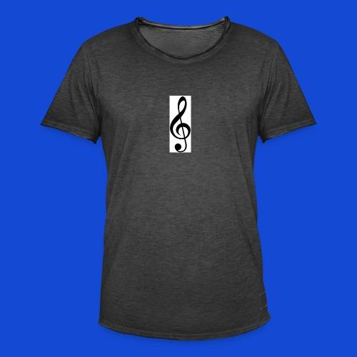 musical - Camiseta vintage hombre