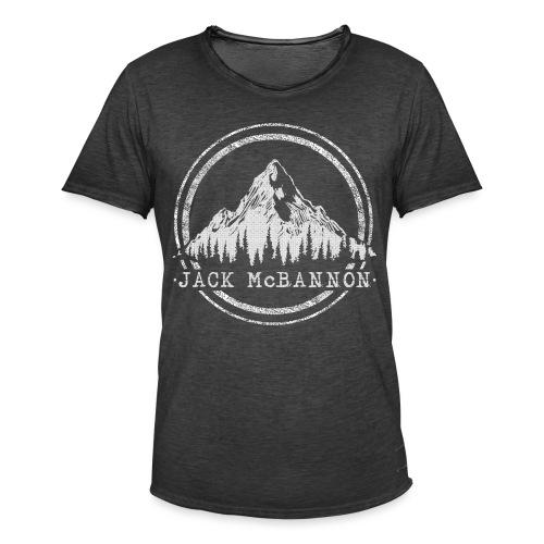 Jack McBannon - Mountain - Männer Vintage T-Shirt