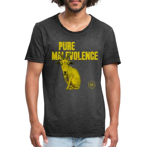 Domesticated Riot - Pure Malevolence - Vintage-T-shirt herr