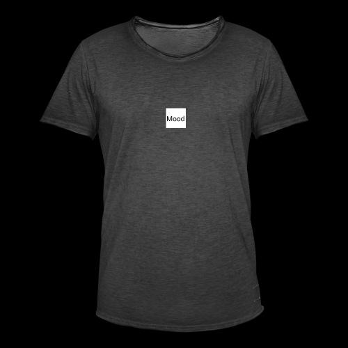 White Mood Hoodie - Herre vintage T-shirt