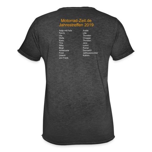 Jahrestreffen 2019 - Männer Vintage T-Shirt