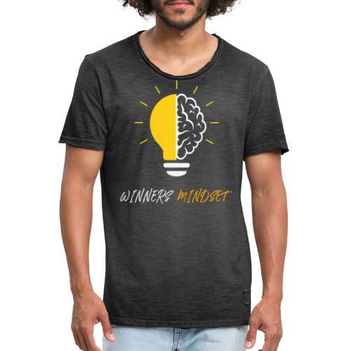 Winners Mindset - Ein Design für Gewinner - Männer Vintage T-Shirt