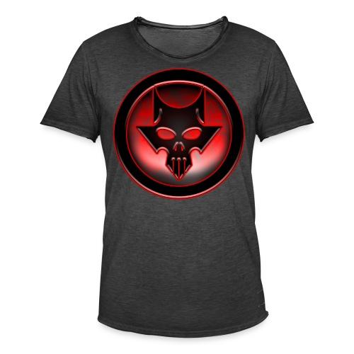 Dio del Metal Marchio Infernale Red Version - Maglietta vintage da uomo