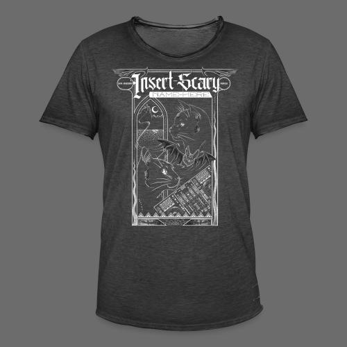 [ISNH] Card-2 - Männer Vintage T-Shirt